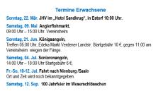 Termine Erwachsene©Angler-Verein Nienburg Weser e.V.
